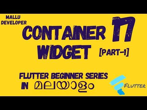Flutter Beginner Tutorials - Single Child Container Widget
