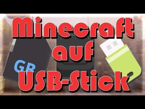 Minecraft auf USB-Stick / externen Geräten spielen Tutorial