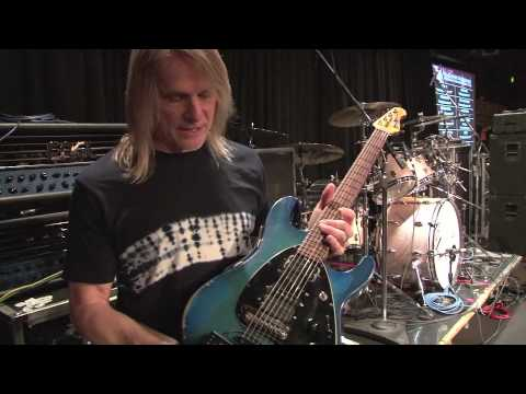Steve Morse talks about his Music Man Signature Model