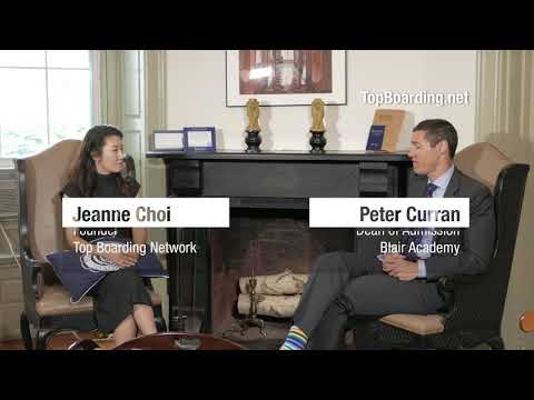 (Blair Academy) Interview with Peter Curran