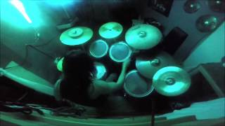 Ektomorf-You Can't Control Me (drum cover)
