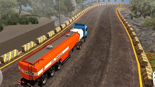 Oil Tanker Truck Driving 2021 - Transport to the Factory - Android Gameplay FHD screenshot 4