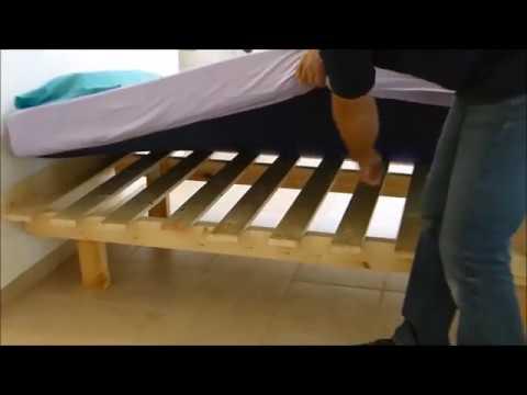 מגה וברק קשירת מיטונת למיטת הורים עם בסיס פוטון או מסגרת - YouTube DM-35