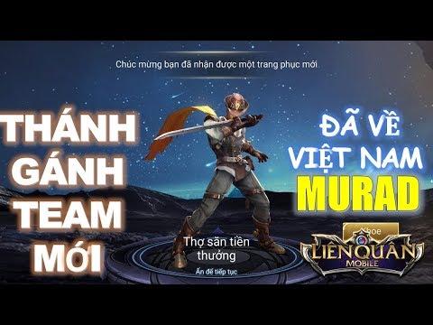 Tướng mới ra mắt Murad Thợ săn tiền thưởng - Thánh gánh team mới xuất hiện [Mua và test luôn]