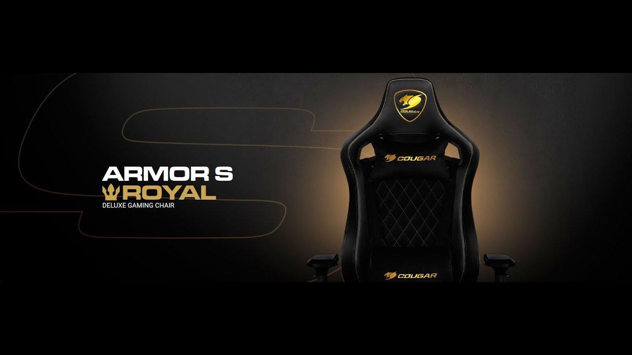 Cougar Armor S Royal | Unboxing & stavba herní židle