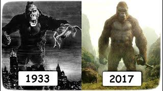Эволюция Кинг Конга в кино. 1933 - 2017