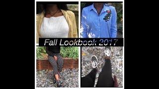 Fall Lookbook 2017🍂