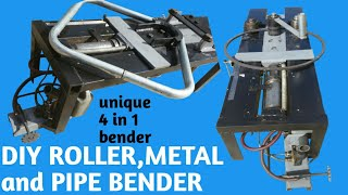 Homemade Roller,Metal and Pipe Bender (part 3 of 3)