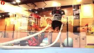 Тренировка с канатом для начинающих