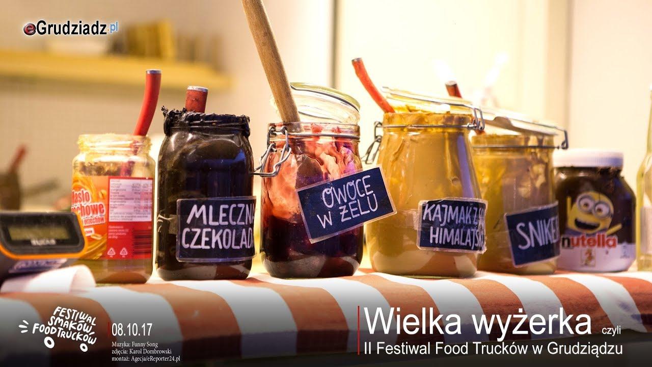 Wielka wyżerka czyli  II Festiwal Food Trucków w Grudziądzu