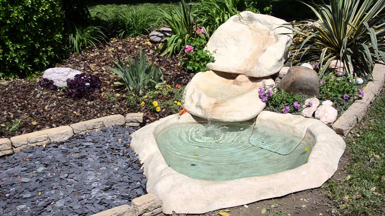 Cascate laghetti giochi d 39 acqua youtube - Laghetti da giardino ...