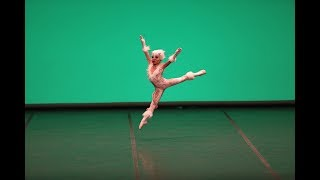 """Pink Panther"" Nina Miró, 7 years old, gold medal at Vaslav Nijinsky Contest in Huesca 2018"