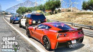 GTA 5 MODS LSPDFR 0.4 - CORVETTE HIGHWAY PATROL!!! (GTA 5 REAL LIFE PC MOD)