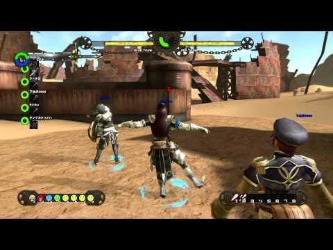 Ixion Saga Online 6vs6 Blaster Gameplay 1080p