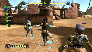 Ixion Saga Online 6vs6 Blaster Gameplay 1080p