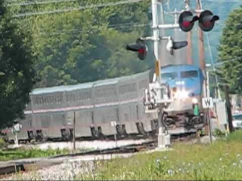 Thumbnail: amtrak No. 8 at 70 MPH!!!