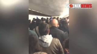 Момент взрыва на матче Франция - Германия Теракт во Франции