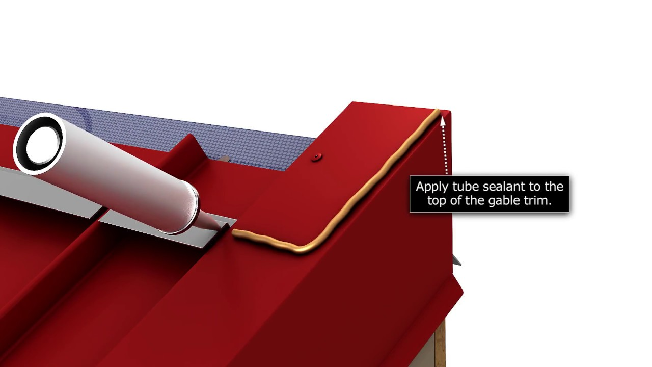 How To Install Standing Seam Metal Roofing High Side