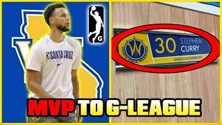 The REASON Why STEPH CURRY Was Sent To The NBA G-LEAGUE!