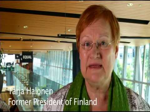 Girls' Globe interview with Tarja Halonen, former President of Finland