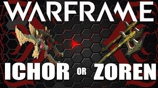 Warframe Dual Zoren or Dual Ichor. Roflcopter of choice ✱✱