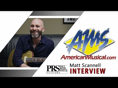 PRS Experience Matt Scannell Interview - American Musical Supply