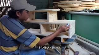 Kreatif,,,cara Membuat Sendiri Meja Laptop Minimalis Dari Kayu Palet