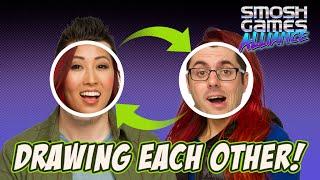 SPEED DRAWING EACH OTHER (Bonus Vlogs)