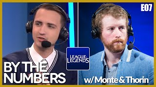 [E07] By The Numbers: LoL with MonteCristo and Thorin | Alphadraft Podcast Episode 7