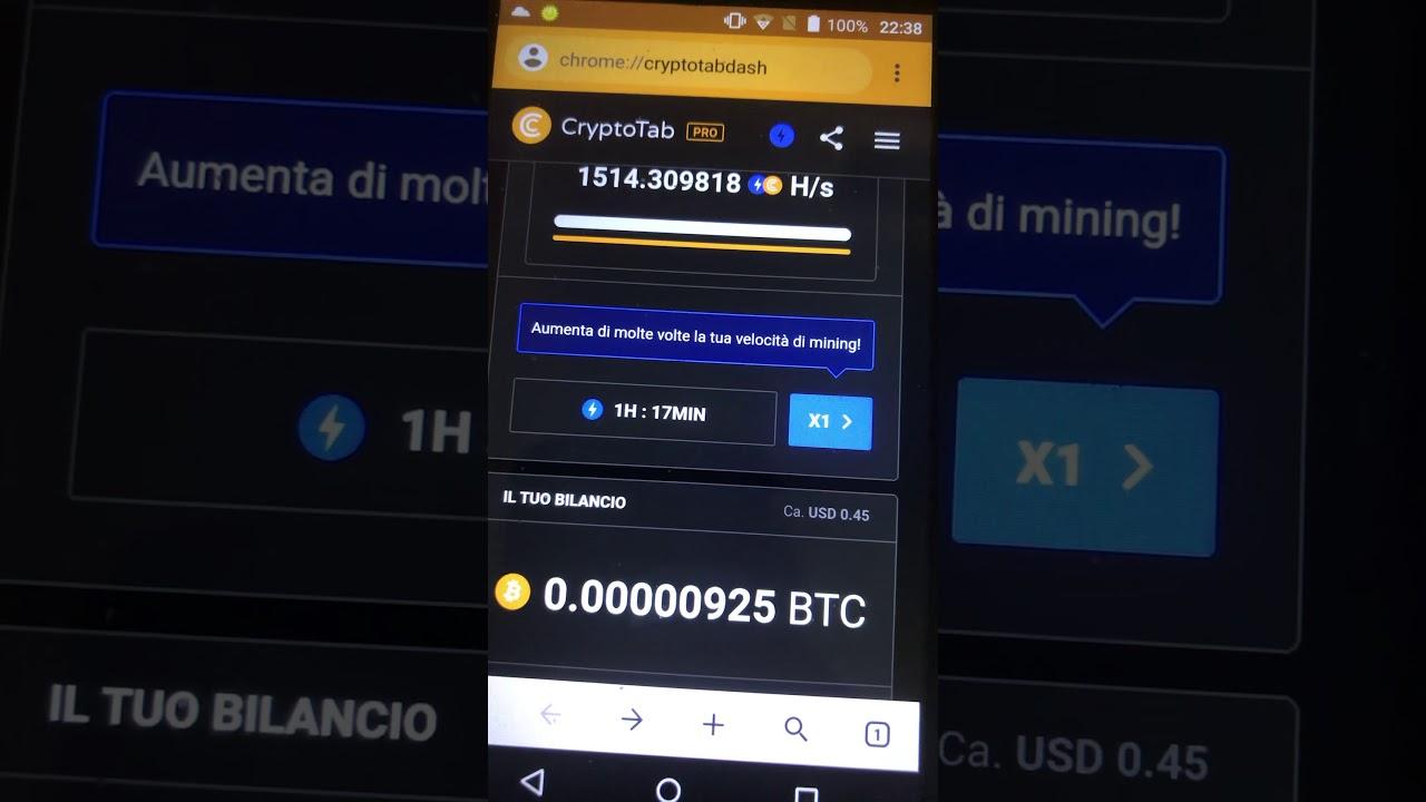 bilancio bitcoin miner