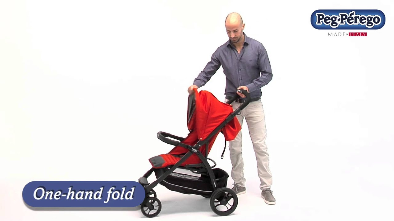 compact lightweight stroller booklet by peg perego