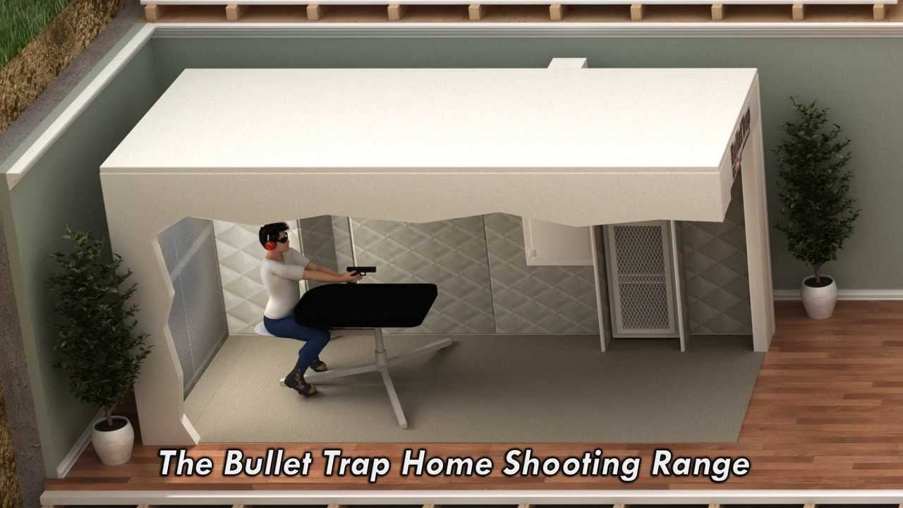 Personal Indoor Gun Range From Bullet Trap Usa The Firearm Blog