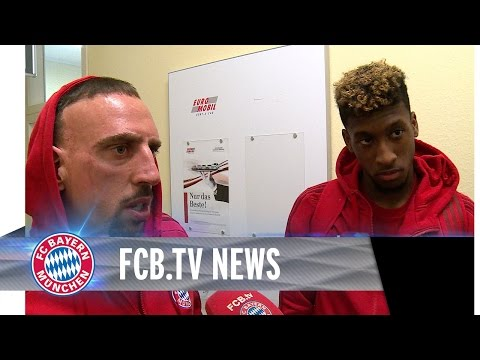 Ribéry lobt Coman, Lewandowski auf Rekordkurs