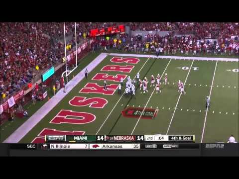 Miami vs Nebraska 2014 Football Full Game HD