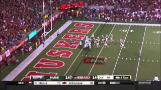 Miami vs Nebraska 2014 Football Full Game HD