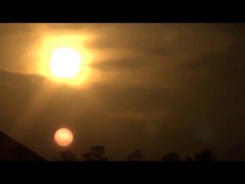 "NIBIRU ""TWO SUN"" best footage caught on camera"