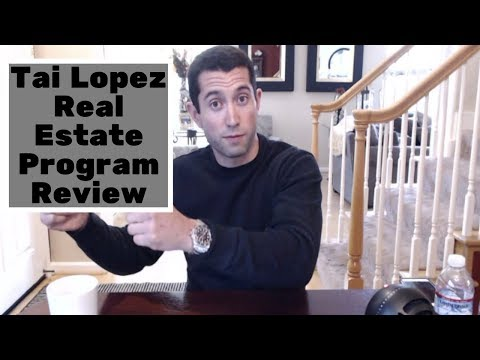 Tai Lopez Real Estate Program Review