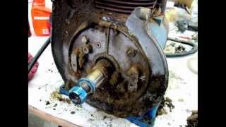 1965 T1000 Ford Garden Tractor Restoration