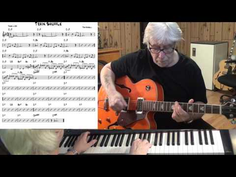 Train Shuffle - Jazz guitar & piano cover ( Tom Harrell )