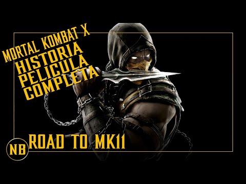 Mortal Kombat X Road to MK11 Historia Completa Pelicula Completa Español 1080p HD Full HD