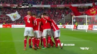 SL Benfica 4-0 Tondela - Golos com Relato - Antena 1