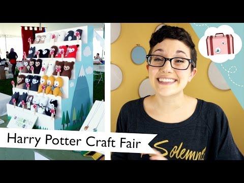 Harry Potter Craft Fair! (At MISTI Con 2015) | @laurenfairwx