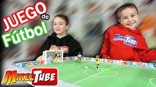 Partido con nuestro juego de fútbol Playmobil