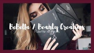 BeBella & Beauty Creations Palette Reviews/Swatches • || AMARIIEEXMUA ||
