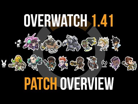 Overwatch Patch 1.41 Overview