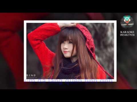 [Karaoke HD] Chuỗi Ngày Vắng Em - ( Remix New Version) Châu Khải Phong