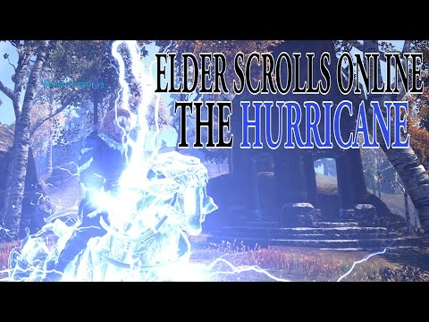 Eso Sorcerer Hurricane