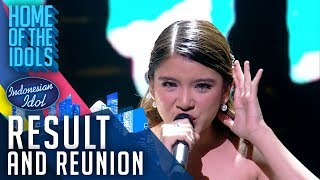 TIARA - I SURRENDER Celine Dion - RESULT & REUNION - Indonesian Idol 2020
