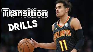 Transition Full Court Basketball Drills