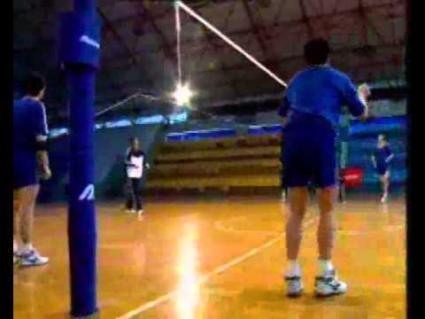Bài tập củng cố kỹ thuật chuyền bóng cao tay